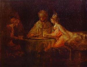 Assuerus, Haman and Esther