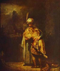 Departing of David and Jonathan