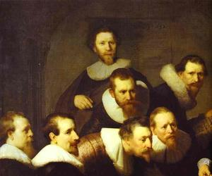 Doctor Nicolaes Tulp's Demonstration of the Anatomy of the Arm. Detail