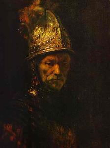 Man in a Gold Helmet