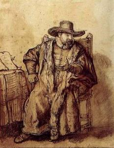 Le Predicateur Menonite Cornelis, louvre
