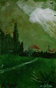 Landscape Near Figueras, 1910