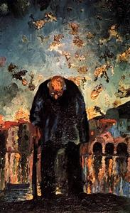 Crepuscular Old Man, 1917-18
