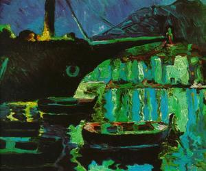 Port of CadaquNs (Night), 1918-19