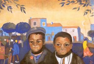 Two Gypsy Lads, 1920-21