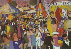 Fair of the Holy Cross - The Circus, 1921