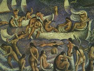 泳客的 啦 布拉瓦海岸 - llaner的泳客 , 1923