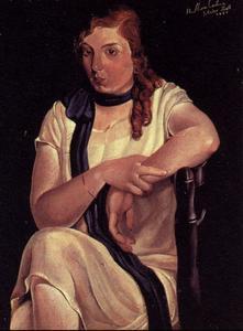 Portrait of Maria Carbona, 1925