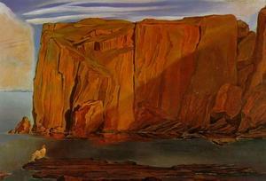 Figure on the Rocks (Penya Segats), 1926