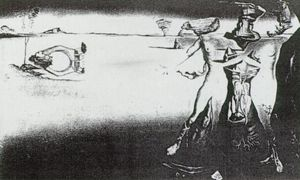 Desert Trilogy - Apparition of a Couple in the Desert - for 'Desert Flower' perfume