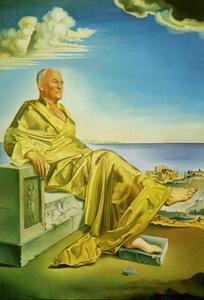 'La Turbie' - Sir James Dunn Seated, 1949