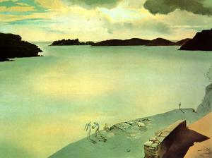 Landscape of Port Lligat, 1950