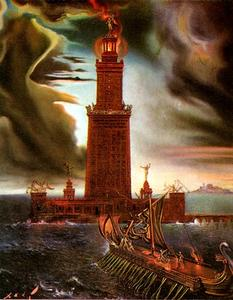 The Lighthouse at Alexandria, 1954