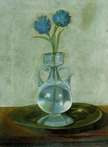 The Vase of Cornflowers, 1959