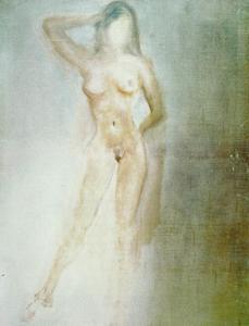 Study of a Female Nude, circa 1962