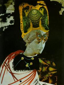 Mad Mad Mad Minerva - Illustration for 'Memories of Surrealism', circa 1968