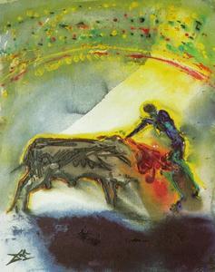Tauromachia Io - il torero , il uccidere ( terzi e finale giro di corrida ) , 1968