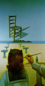 The Chair (stereoscopic work, left component), 1975