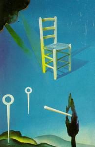 The Chair (stereoscopic work, left component), 1976