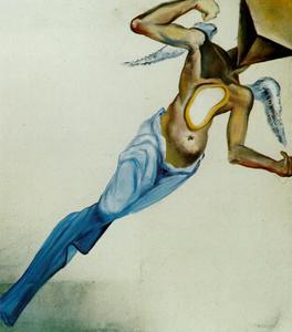 Surrealist Angel, circa 1977