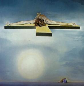 Gala's キリスト ( 立体的な 仕事 , 左 成分 ) , 1978