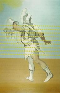 Jason Carrying the Golden Fleece (unfinished), circa 1981