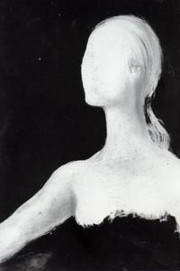 Untitled (Head of a Woman, unfinished), 1981