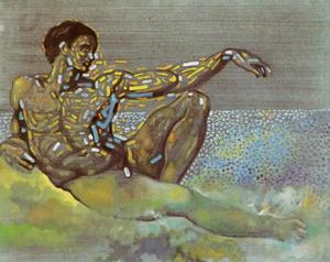 Figure Inspired by the Adam of the Ceiling of the Sistine Chapel, 1982