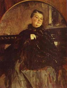 Portrait of the Actress Glikeria Fedotova