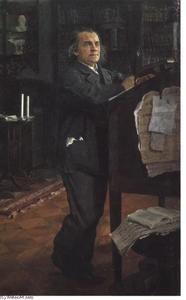 Portrait of the Composer Alexander Serov