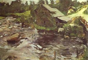 Watermill in Finland