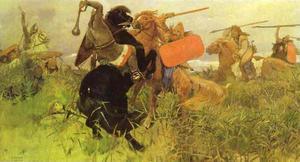 Battle of Slavs and Scythians