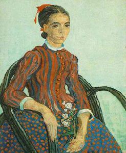 La Mousmé, Sitting