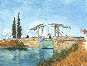 Langlois Bridge at Arles, The 2