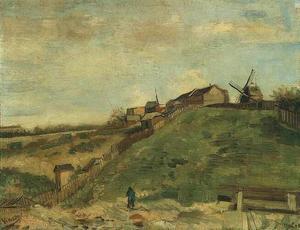 Montmartre Quarry, the Mills