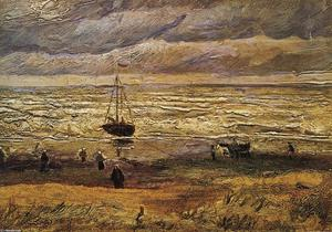 View of the Sea at Scheveningen