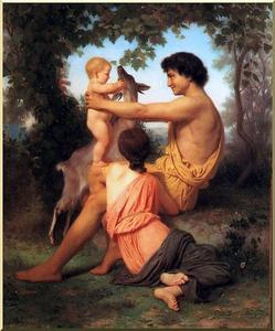 Idyll: Family from antiquity
