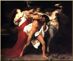 Orestus Pursued by the Furies