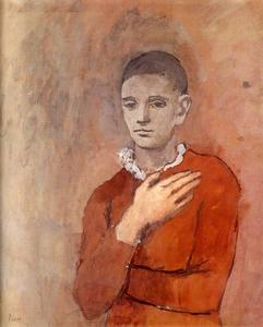 Boy with a Frilled Collar