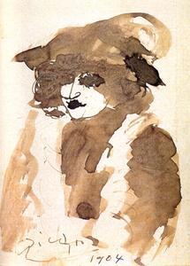 Portrait of Suzanne Bloch (Opera Singer)