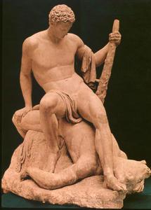 Teseo sul Minotauro (bozzetto) 1781-1783