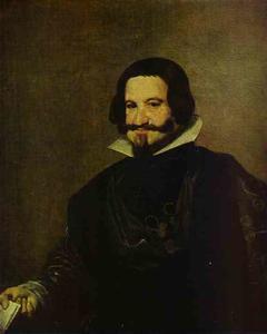 Portrait of Caspar de Guzman, Count of Olivares, Prime Minister of Philip IV