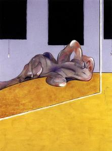 lying figure in a mirror, 1971