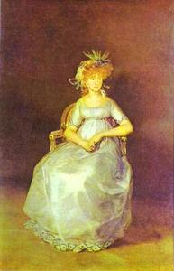 Portrait of the Countess of Chinch n