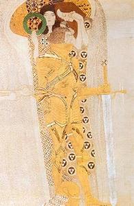 14.Friso Beethoven. El ansia de felicidad (detalle), 1902