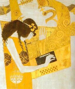 .Friso Beethoven. Alegría, inspiración divina (detalle), 1902 (17)