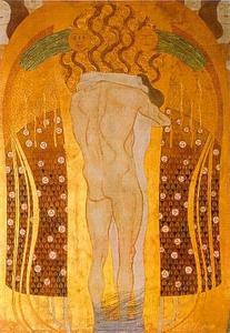 .Friso Beethoven. Alegría, inspiración divina (detalle), 1902 (18)