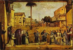 Funeral of St. Jerome