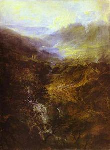Morning Amongst the Coniston Fells, Cumberland