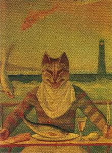 The Cat (detail)